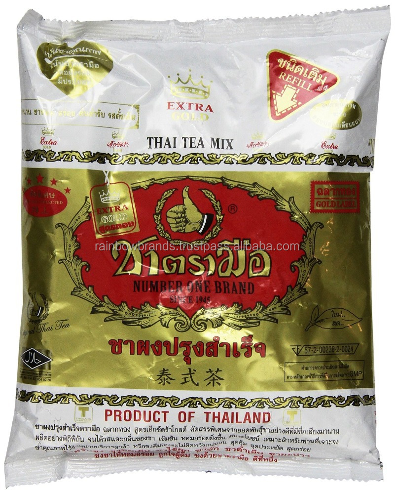 Foodkoncept Gold Label the Original Thai Iced Tea Mix ~ Number One Brand Imported From Thailand! 400g Bag Great for Restaurants