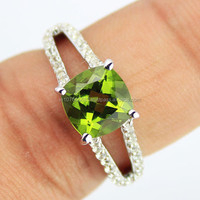 Color Change Alexite Sterling Silver Ring