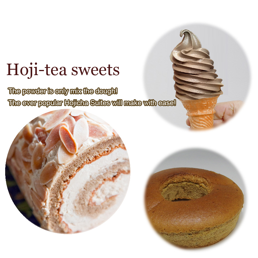 delicious and Famaous hoji with A Japanese confectionery maker uses. made in Japan