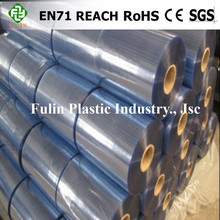 clear pvc soft film roll for packing printing pvc normal clear film for mattress packing