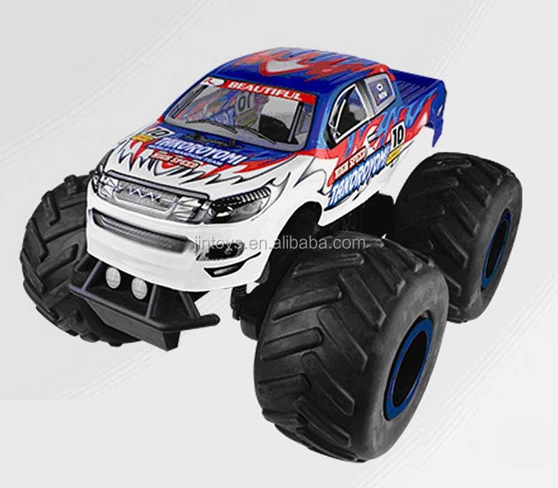 1:8 High speed rc toys 4WD short truck rc car electric car buggy with brush motor