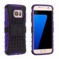 Tough Stand Hard Case for Samsung Galaxy S7 Purple