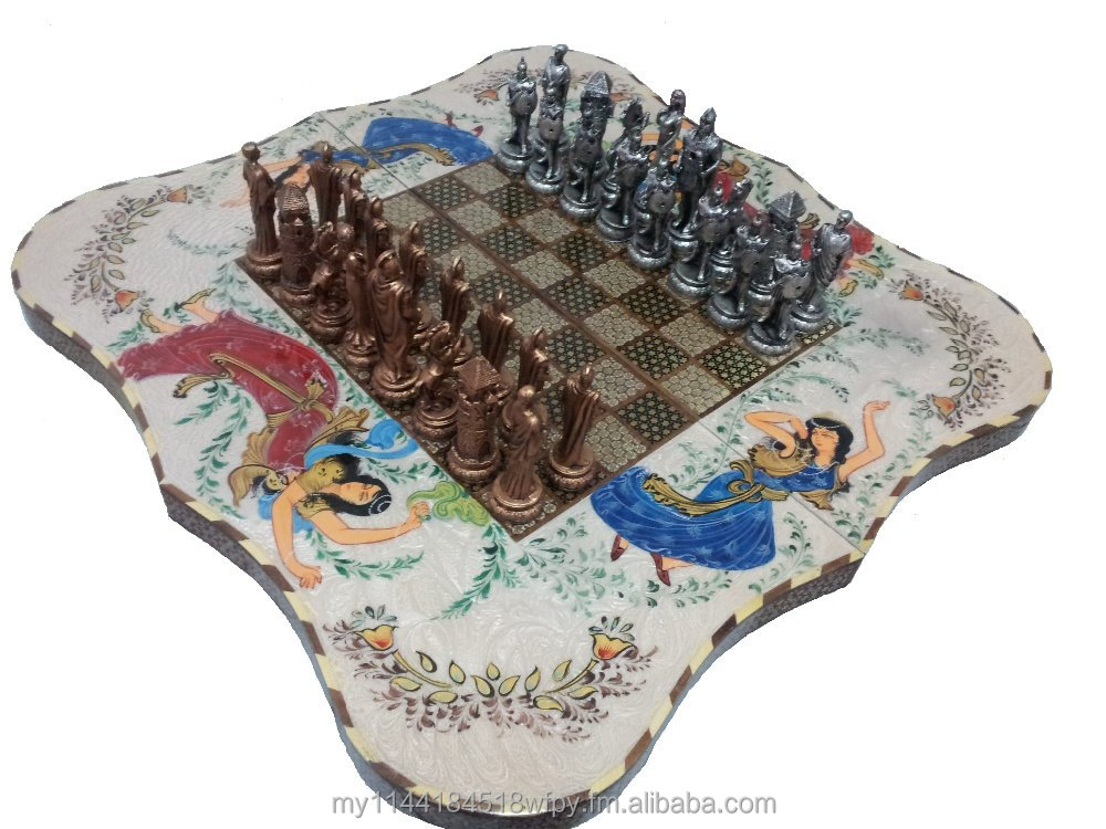 Persian Chess and backgammon