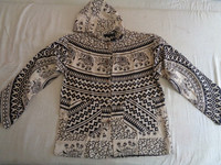 ethnic PRINTED COTTON JACKETS WITH HOOD for summer