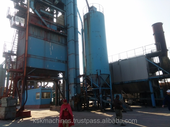 second hand AMMANN concrete batching plant asphalt on sale