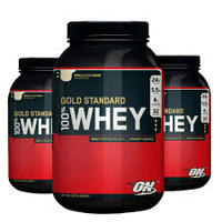 Optimum Nutrition Gold Standard 100% Natural Whey Protein, Chocolate