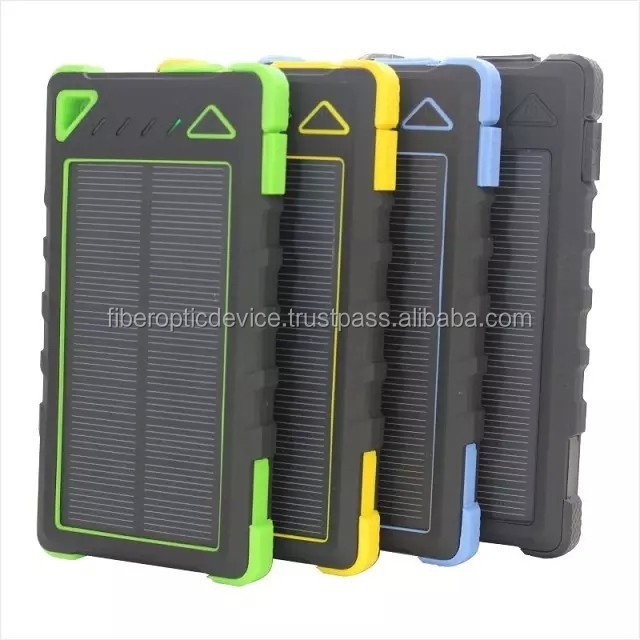 Solar Panel Charger 8000mAh Dual-Port Portable Charger Backup Power Pack for iPhone 6 Plus, iPhone 5S 5C 5 4S 4, iPods