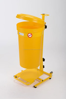 45L Mobile Pedal Operated Clinical Waste Bin