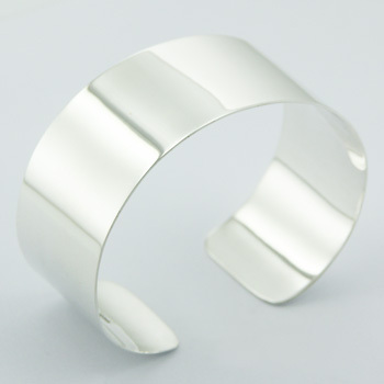 Superb Elegant Hallmarked 925 Sterling Silver Bangle Bracelet