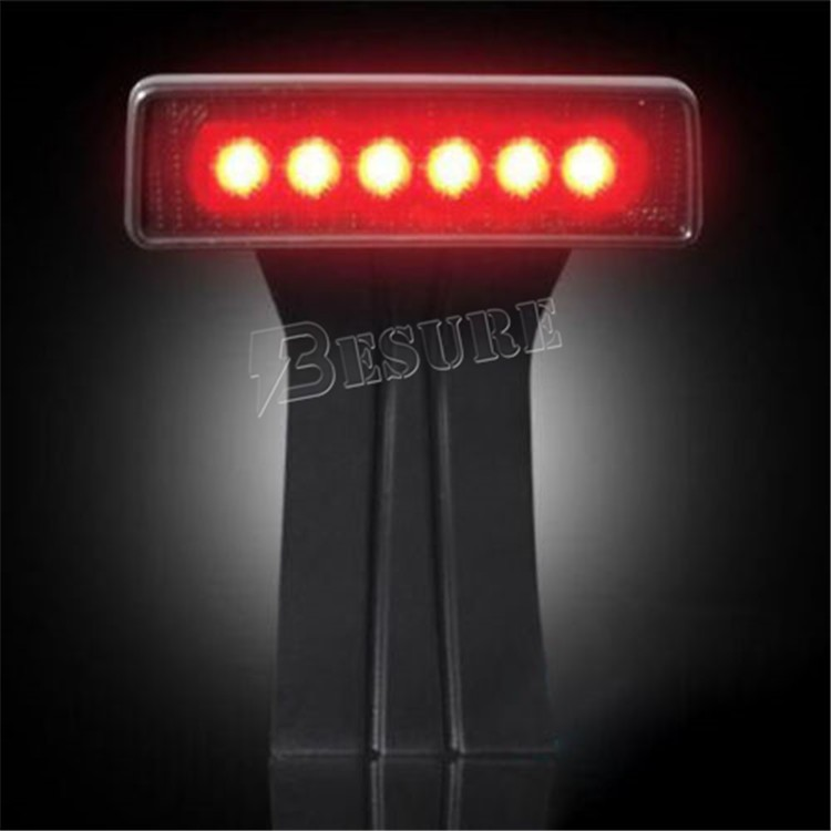 IP67 12Volt 6W High Mounted Stop Lamp LED Brake Light Passes CE,RoHS For Jeep Wrangler