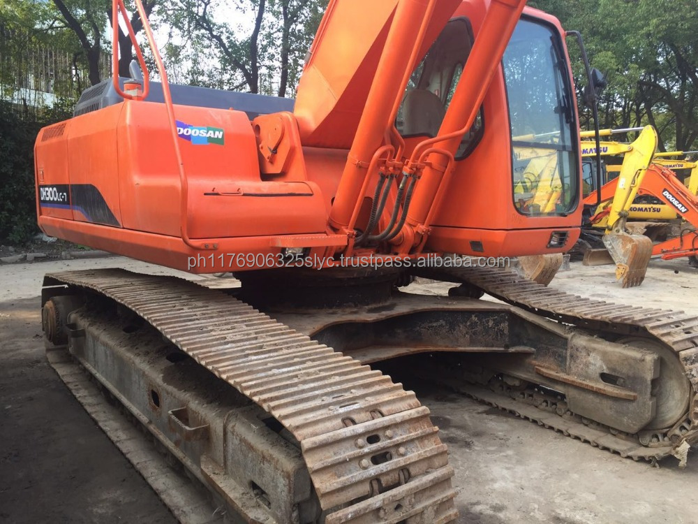 Used Doosan DH300LC-7 Crawler excavator / Secondhand Daewoo 300 excavators for sale