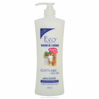 Evo Beauty Shower Cream Goat's Milk + Rice Milk 1000ml