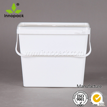 cheap plastic container food grade plastic bucket for food storage
