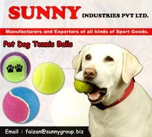 Pet dog tennis ball / Custom Logo Tennis Balls / Pet Tennis Ball / Pet Toy / Ball for Dogs / dog toys bouncing /Colorful Balls