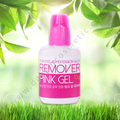 Eyelash Extension Glue Remover - Pink Gel type