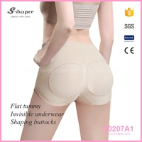 S-SHAPER Woman Butt Lifter Underwear,Sexy Lady Boy Shorts Panty,Seamless Booty Bra Shorty S0207A1