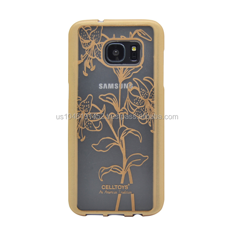 Floral Case for Samsung Galaxy S7 Edge