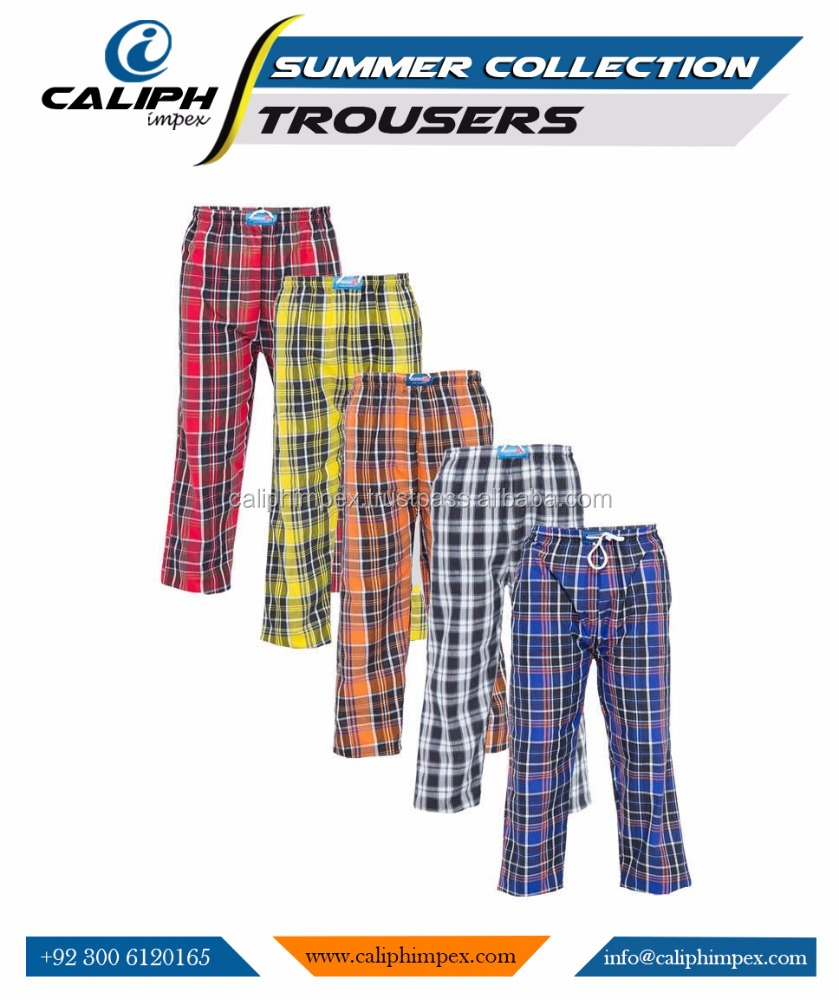Oasis trousers Easy Wear Checkered Pajama - Multicolor printed trousers