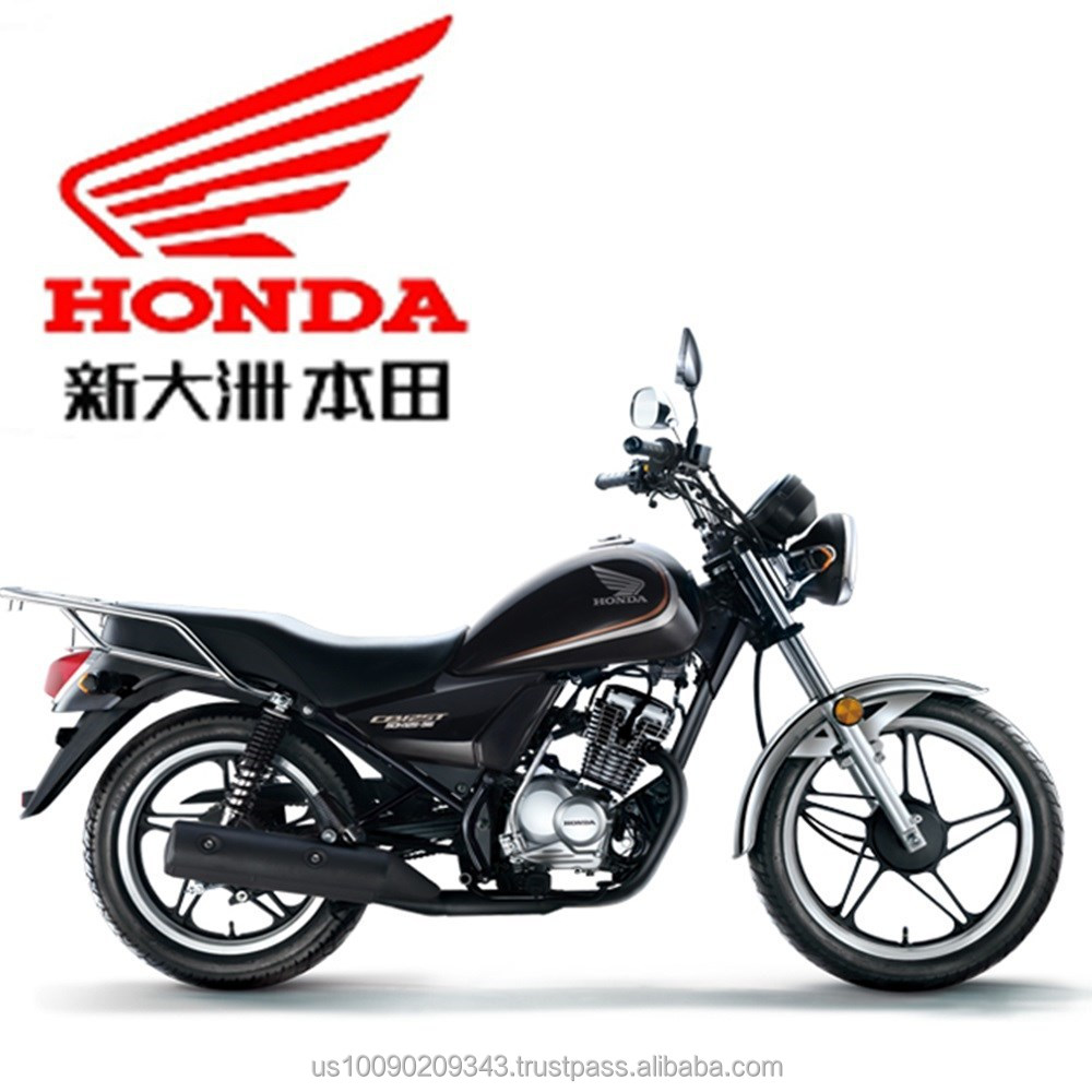 Honda 125 cc motorcycle SDH(B2)125-56 with Honda patented electromagnetic locking system