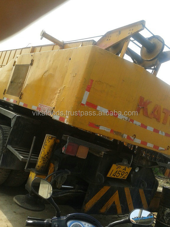 used truck crane original Japan kato 50t All parts working well