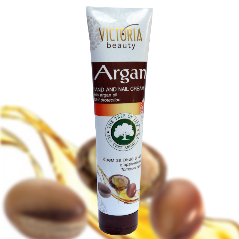 Hand and nail cream with argan oil - 100 ml