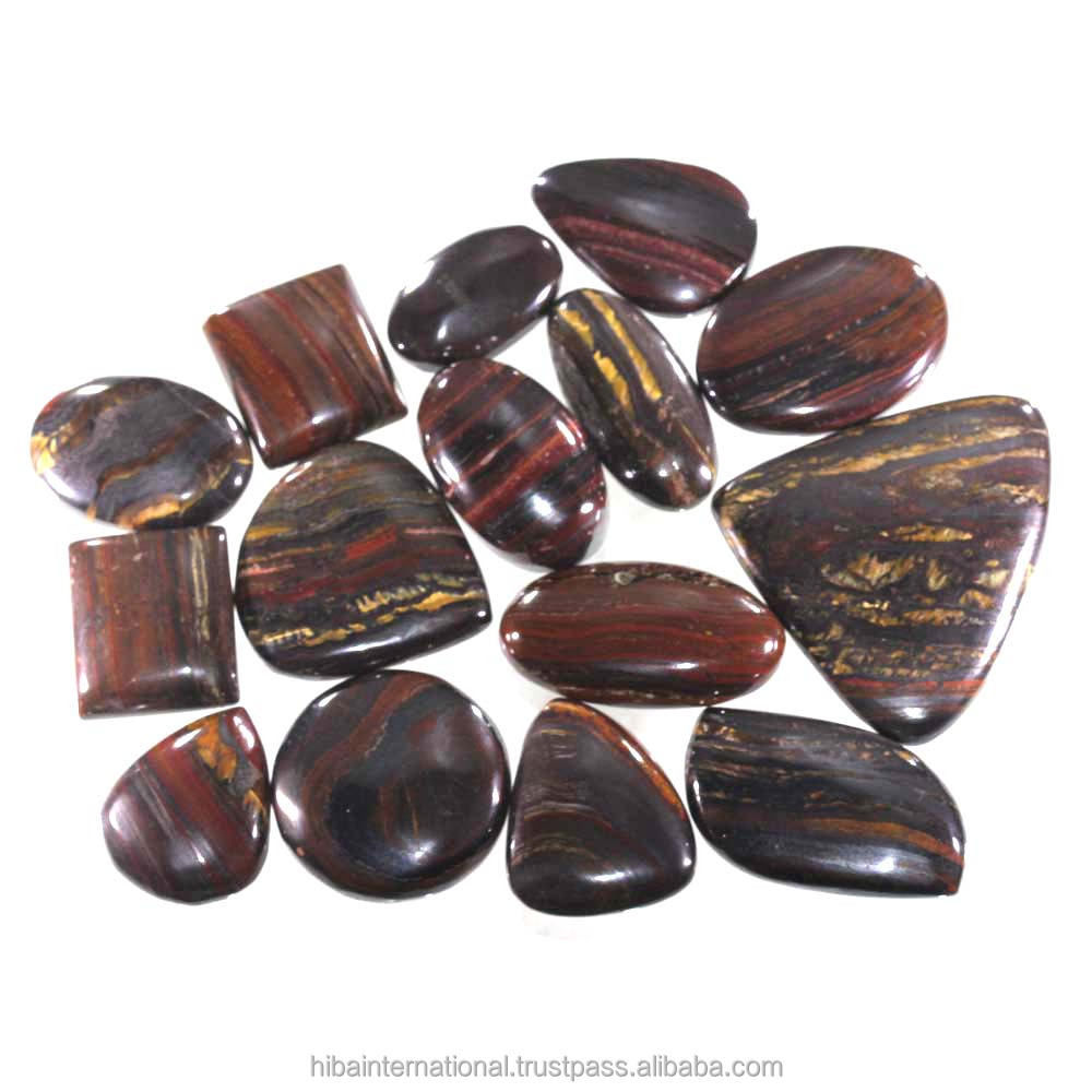 AAA+ natural iron tiger cabochon gemstone iron tiger stone