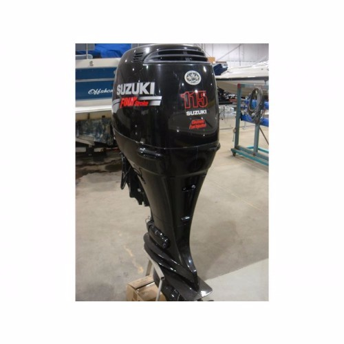 FREE SHIPPING FOR USED SUZUKI 115 HP 4 STROKE OUTBOARD MOTOR