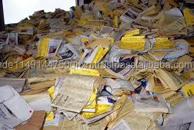 Bulk Waste Paper scrap (Occ, Onp, Oinp, Yellow Pages Directories, Omg, A3 / A4 Waste
