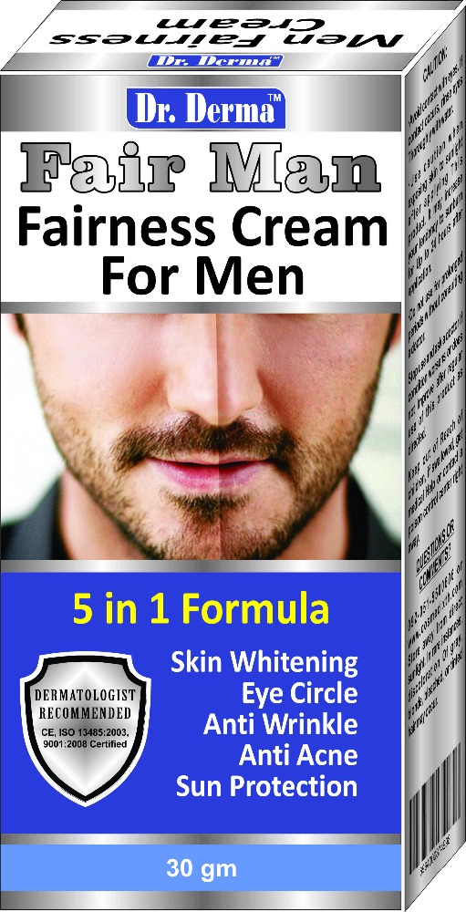 DR.DERMA FAIR MAN, FAIRNESS CREAM