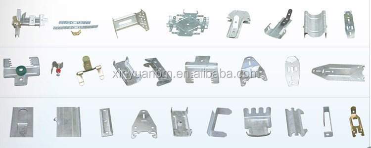Canton Fair Light Steel Keel Fittings Suspended Ceiling Accessories Galvanized Steel Keel Accessories