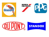 Dupont Glasurit Spies Hecker PPG Standox Car Paints Clearcoat Hardener