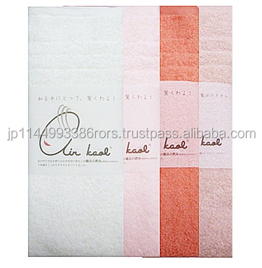 "Easy to use Japanese Various types of Bath Towel ""air kaol Baby-Mom"" at reasonable prices , other bath product also available"