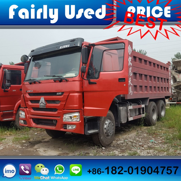 Tipper SINOTRUCK used HOWO TIpper for sale