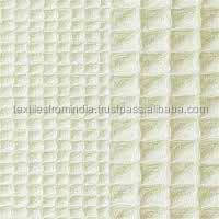 waffle pique fabric
