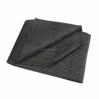 Decent favorite home decor new Modern look fancy 40 in. x 72 in. Moving Blanket Protection Thick Padded Home Furniture Blanket .