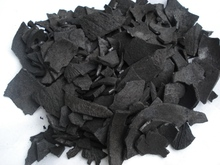 Coconut charcoal made in natural coconut