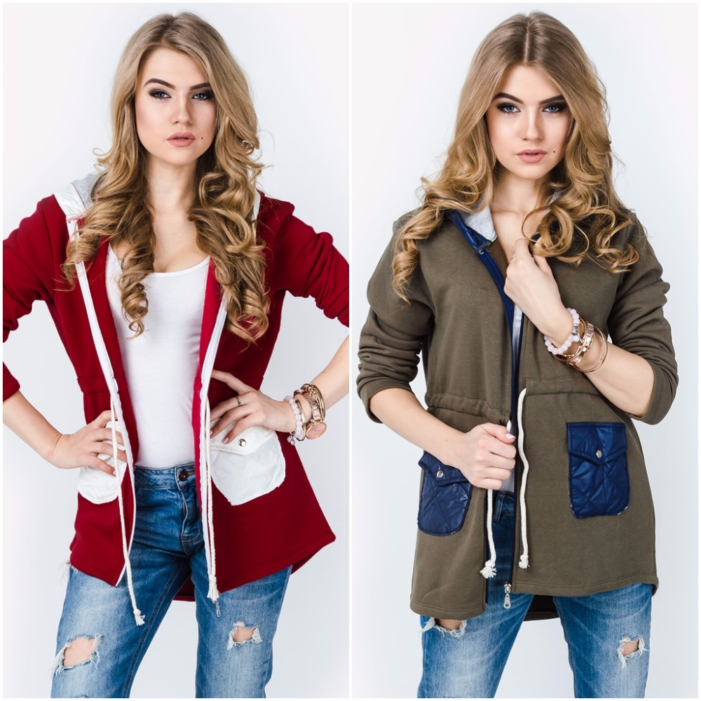 NEW Ladies Warm Quilted Long Sleeves Belt Jacket with Collar cardigan eco leather insets 5409