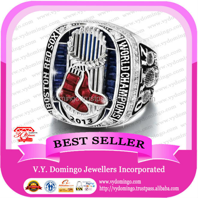 High Standard Quality Baseball Ring 2013 Redsox Championship Rings