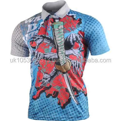 Men Sports Badminton Tennis Running Polo T Shirt