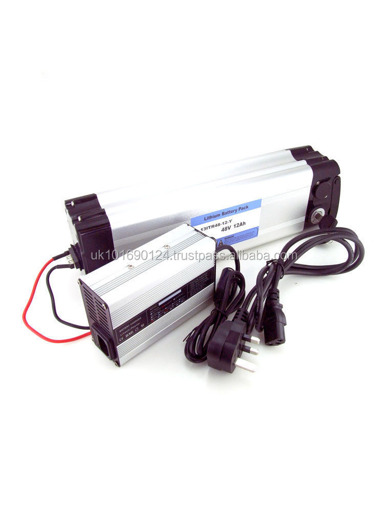 ULTRA MAX 48V 12Ah Li-ion battery for electric bike e - bike with charger