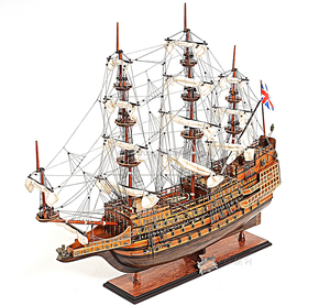 Handmade wooden model tall ship Sovereign of the Seas L80 cm