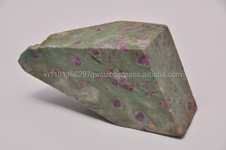 Natural Gemstone Type and ruby in fuchsite Gemstone Material natural rough direct from mines