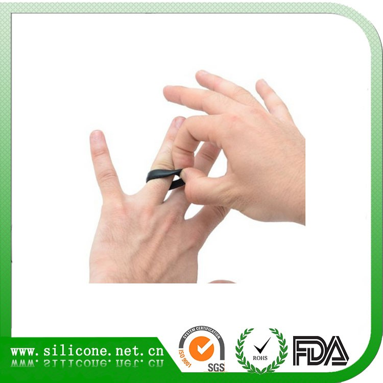 Wholesale Promotional Cheap Silicone Engagement Wedding Ring