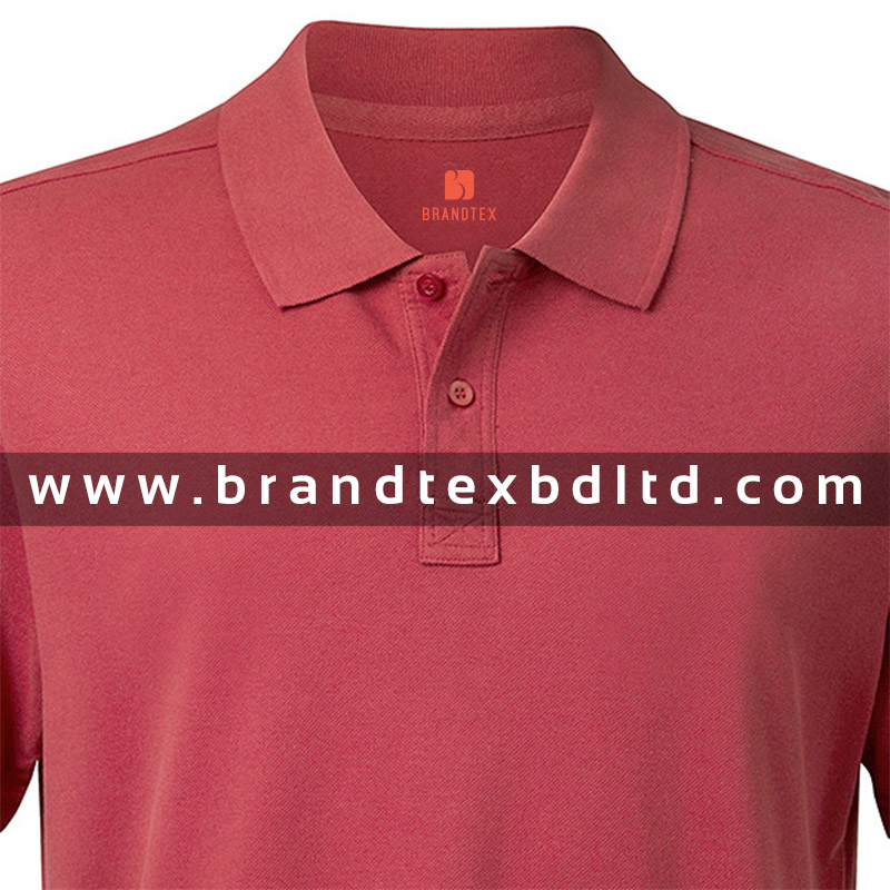 Mens Short sleeve red polo shirt fashionable wholesale latest design 2016 from Bangladesh manufacturer