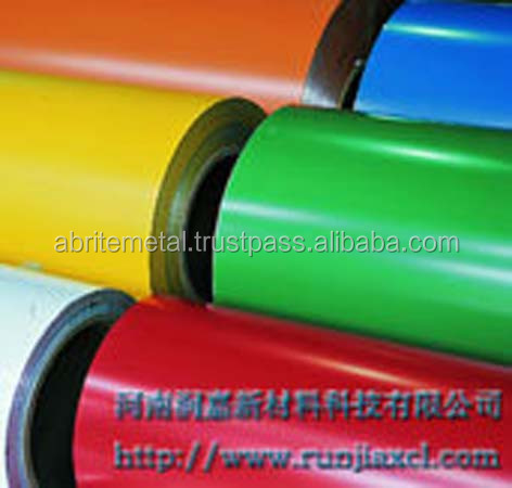 3105 PE PVDF coated aluminum roofing coil for decoration
