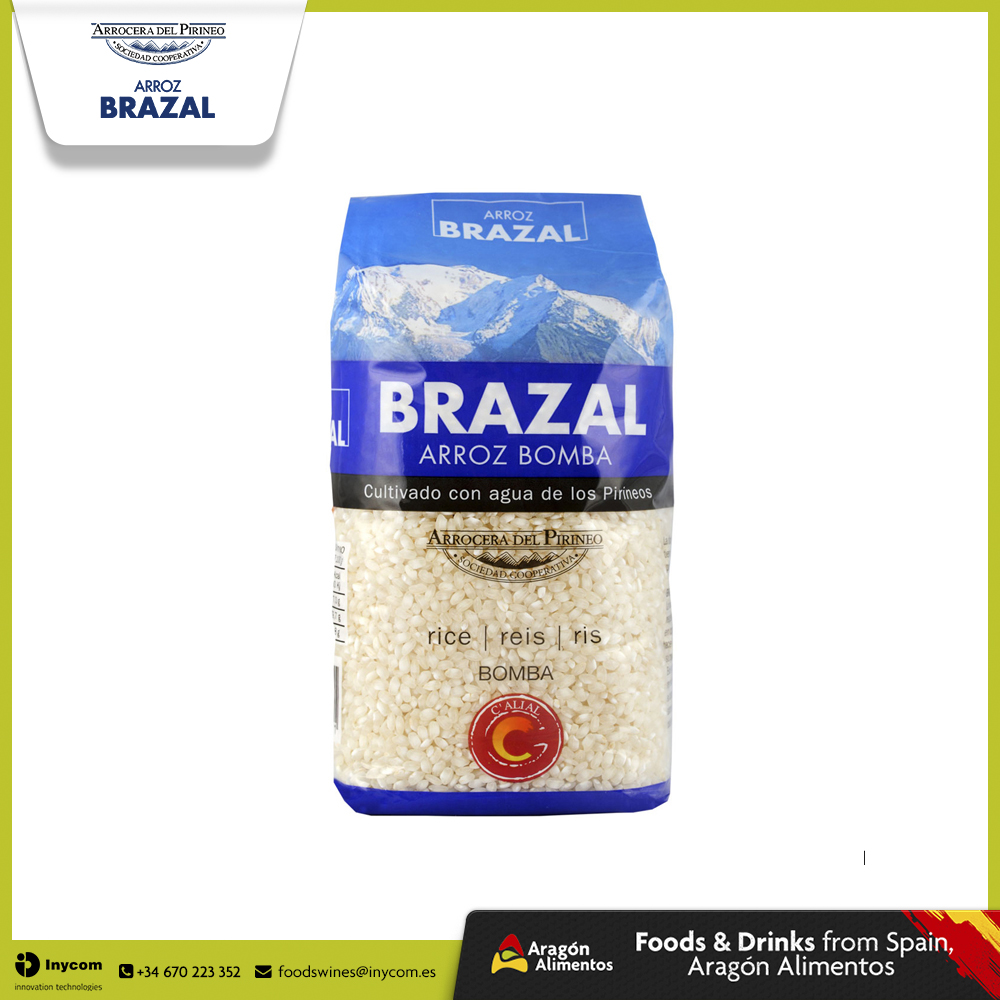 White Rice - Short Grain (Bomba) From Spain - Arrocera del Pirineo