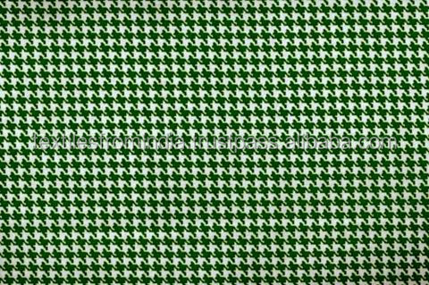 houndstooth cotton fabric