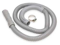 Corrugated Wash Machine Hose 1 In x 5 ft