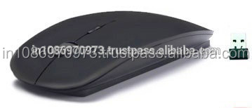 Wholesale New Ultra Slim Wireless Mouse 2.4 GHz With Nano Receiver (Black)