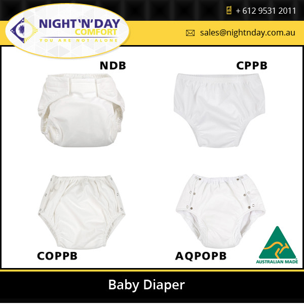 Pull On Style Customized Baby Print Adult Diaper